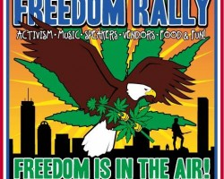 """Mighty Mystic to play the 25th annual """"Boston Freedom Rally"""" Sept 13th & 14th"""