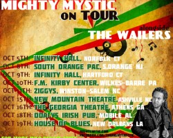 "Mighty Mystic ""FALL TOUR"" announcement"