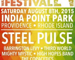 "Mighty Mystic to perform on the prestigious ""Waterfront Reggae Fest"" alongside Steel Pulse, Barrington Levy, Third World + more"