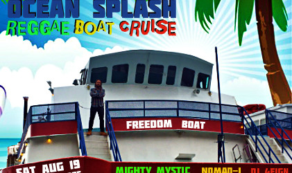 Mighty Mystic Reggae Boat Cruise at Rowes Wharf Boston SAT AUG 19