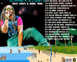 "Announced: Mighty Mystic ""SUMMER NIGHTS"" West Coast & More Tour"