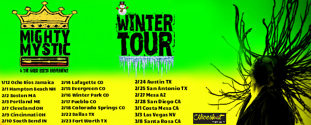 Winter Tour Dates Announced!